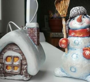 Снеговик из ваты своими руками – 8 пошаговых мастер классов с фото