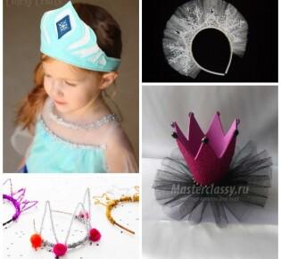 Корона Снежинки своими руками – 17 крутых идей для девочек и взрослых
