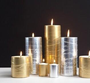 Металлические свечи на Новый год: делаем декорации своими руками