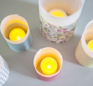 Новогодние бумажные фонарики: пошаговая инструкция с фото
