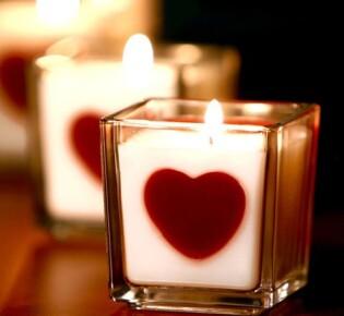 Свеча с сердцем: готовимся к романтической новогодней ночи