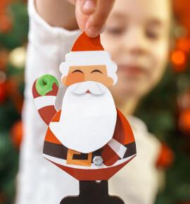 Новогодняя поделка Дед Мороз своими руками – 15 пошаговых мастер классов