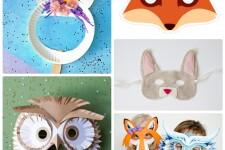 100+ карнавальных масок для детей: шаблоны и выкройки
