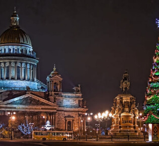 Новый год в Питере: как встретить и где провести новый год в Петербурге