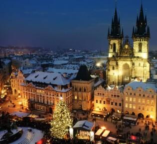 Новый год 2020 в Праге: 7 идей празднования нового года в чешской столице