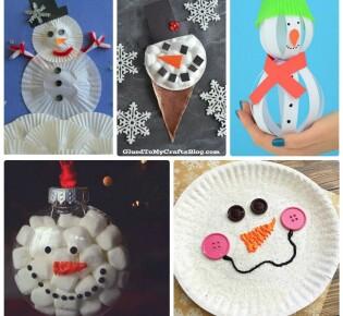 Снеговик своими руками: 100+ поделок для детей и взрослых