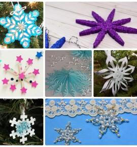 Поделка снежинка: 50+ мастер классов объемных снежинок из бумаги, а также других материалов