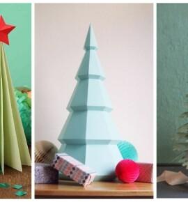 Новогодние елки своими руками из бумаги: 35+ гениальных идей