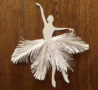 Шаблон балерины