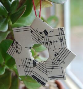 Новогодние игрушки из бумаги своими руками: 35+ схем для любой елки