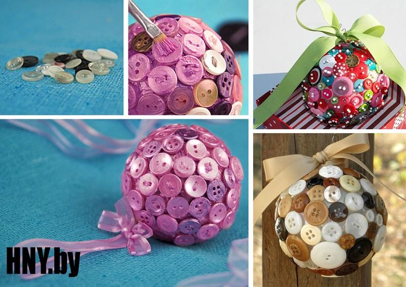 Новогодние шары ручной работы: пошаговая инструкция