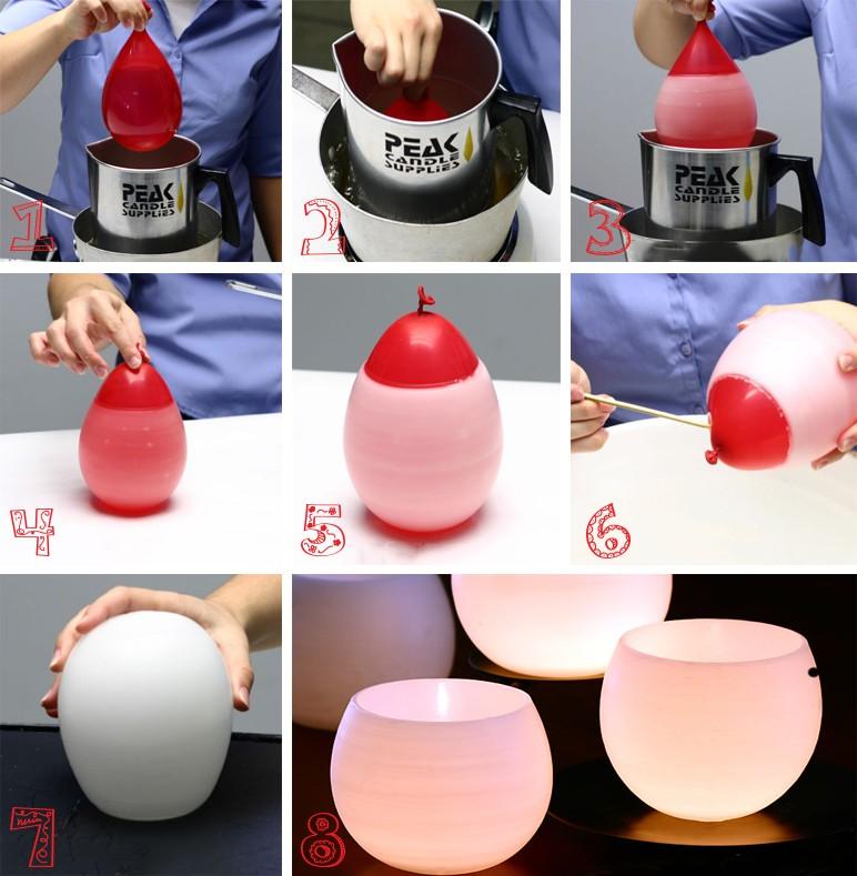 Пошаговая инструкция изготовления новогодней свечи