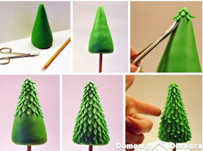 Новогодняя елка из пластилина: делаем елку своими руками