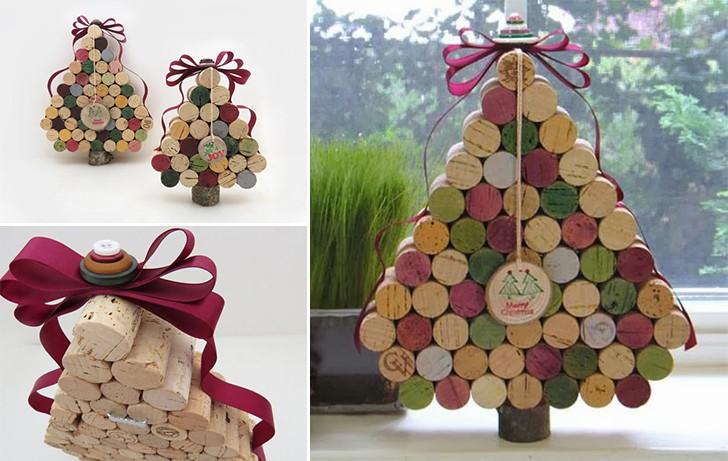 Новогодняя елка из винных пробок: идеи новогоднего декора своими руками