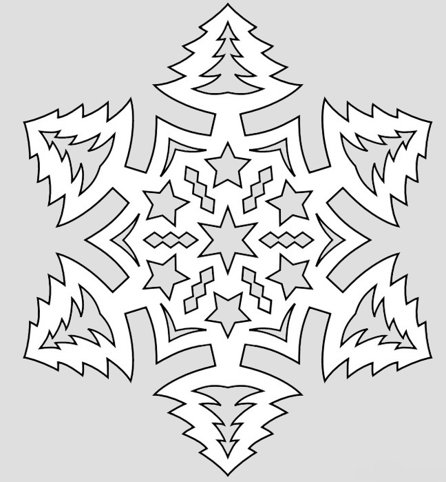 Картинки четверо, шаблоны на нг снежинки