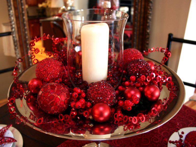 Украшения новогоднего стола своими руками 51
