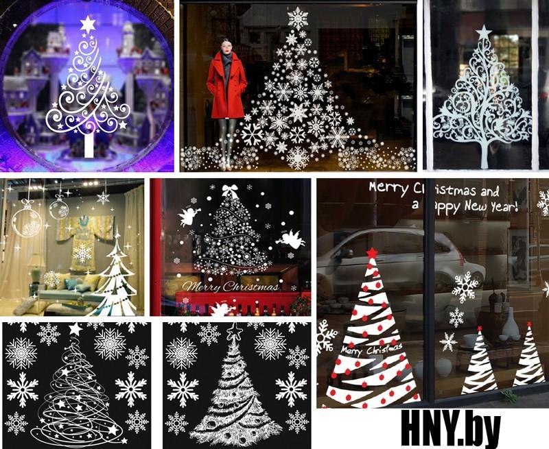 Идеи вытынанок новогодней елки: декорируем окна своими руками
