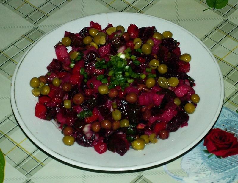Винегрет с горошком: рецепт классического винегрета с горошком