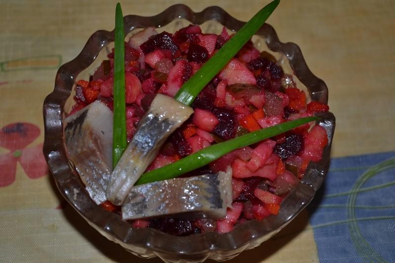Винегрет с селедкой: как приготовить винегрет с селедкой