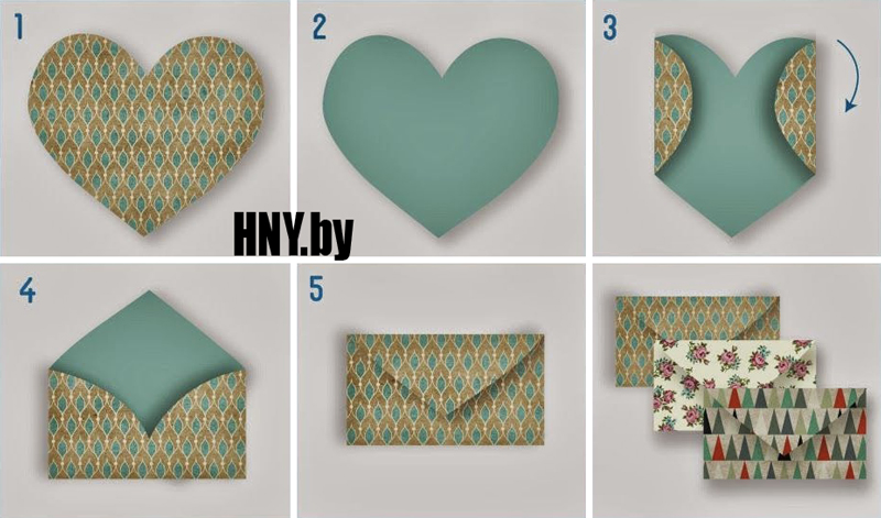 Новогодняя упаковка-конверт: сделай свой подарок оригинальным
