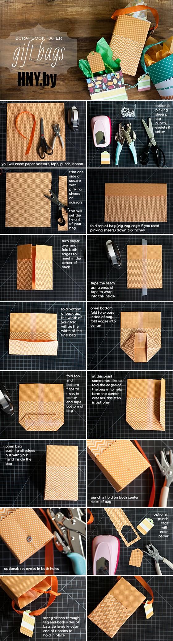 Новогодние пакеты своими руками: упаковываем подарки сами