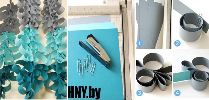 Новогодняя гирлянда из бумаги в технике квилинг: только для терпеливых и усидчивых