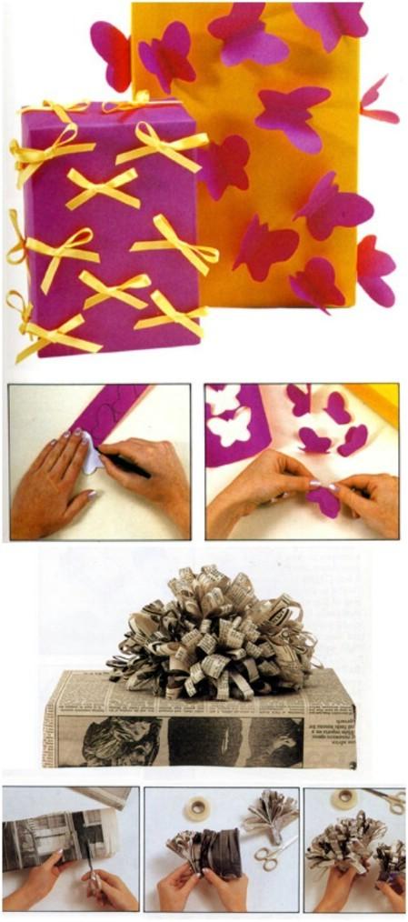 Оригинальная упаковка новогодних подарков своими руками