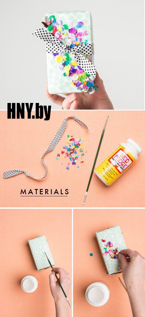 Оригинальная новогодняя упаковка подарков своими руками из подручных материалов