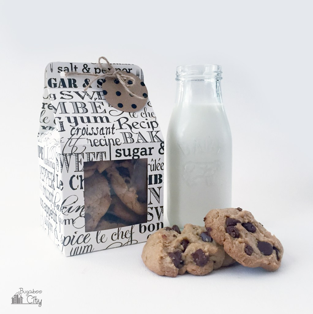 Подарочная коробочка из картона для печенья своими руками. Схема