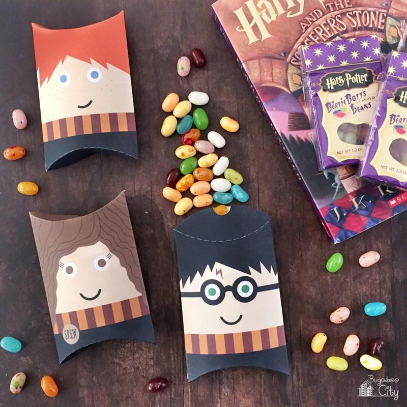 """Схема подарочной коробочки из картона """"Гарри Поттер"""": делаем своими руками"""