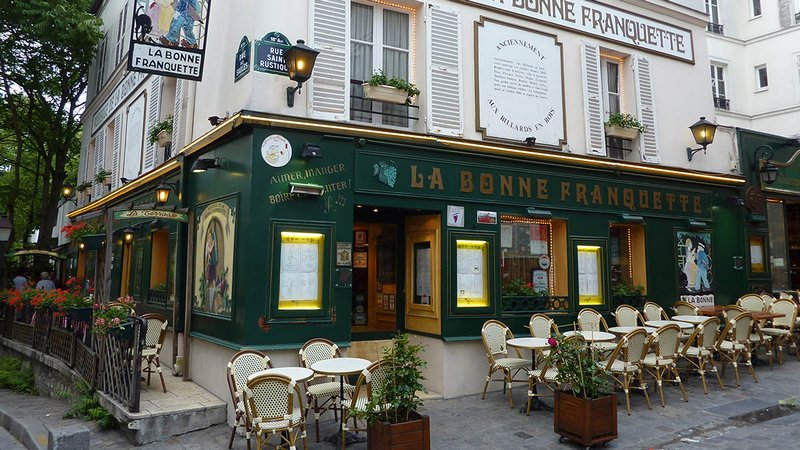 Ресторан La Bonne Franquette