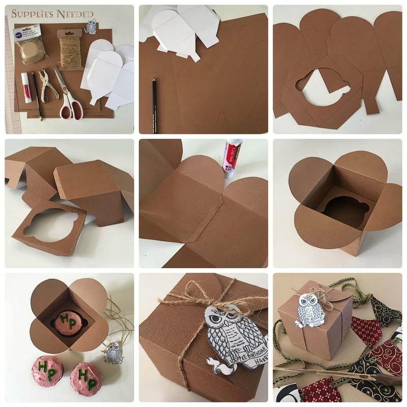 Сделать коробочку из картона своими руками: схема