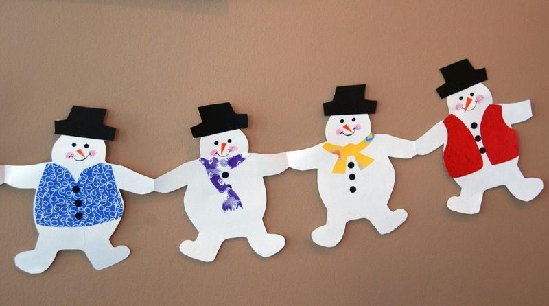 Украшения для детей на новый год своими руками