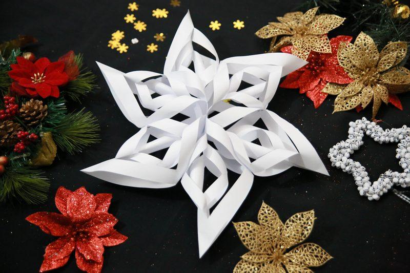Украшения из бумаги на Новый год: декорируем квартиру бумажными поделками