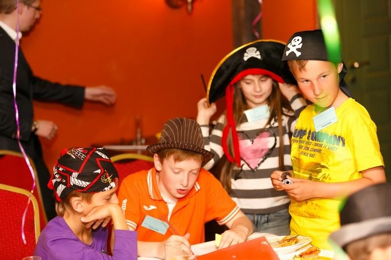 Новогодняя вечеринка для детей в стиле пиратов