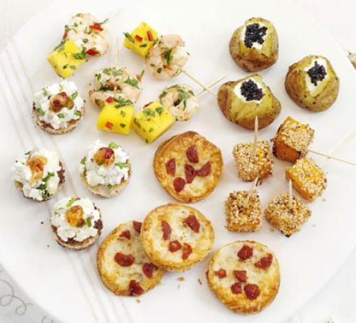 Закуски на Новый год: Пикантные новогодние закуски