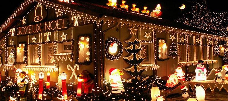 Рождественская ярмарка в районе Дефанс