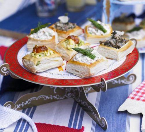Новогодние закуски: Праздничные волованы