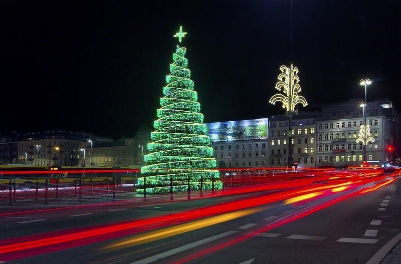 Главная елка Польши, Варшава