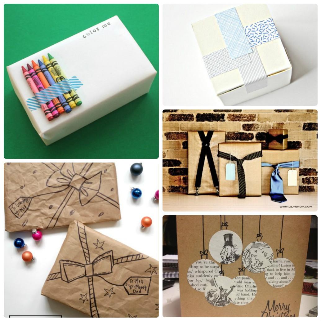 Необычные варианты упаковки подарков на новый год своими руками