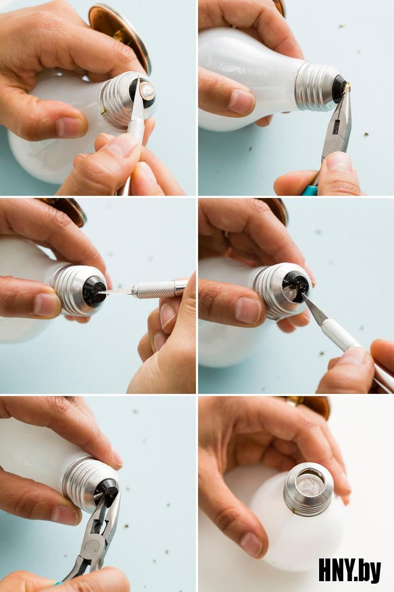 Как открыть старую лампочку: извлекаем нить накаливания самостоятельно