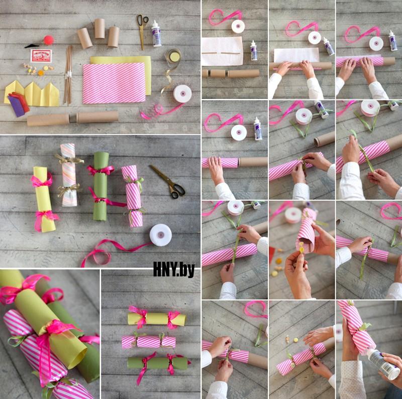Поделки из бумаги на Новый год: делаем подарочную упаковку своими руками