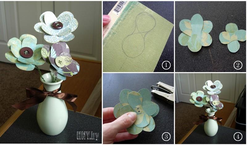 Поделки из бумаги своими руками: декорируем дом к новому году цветами