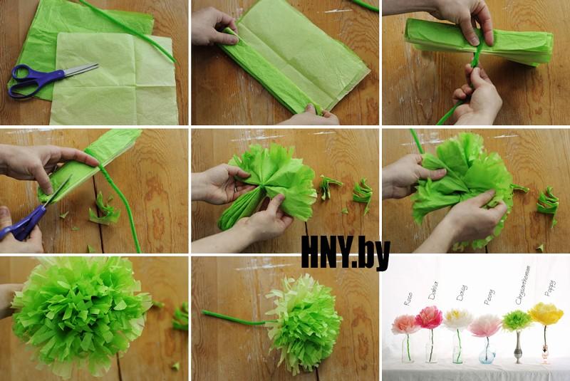 Поделки из бумаги своими руками: делаем цветы для декорирования дома