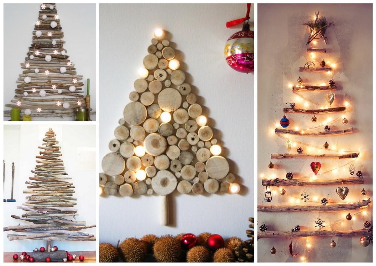 Новогоднее оформление дома своими руками: новогодняя елка