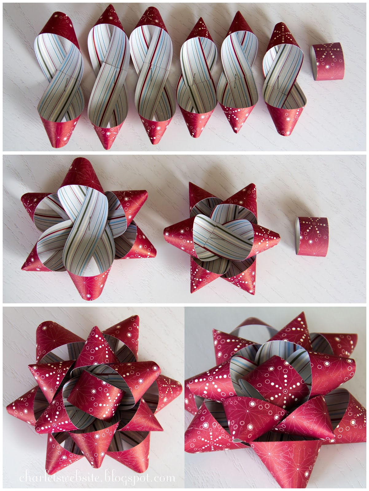 Как сделать подарочного банта
