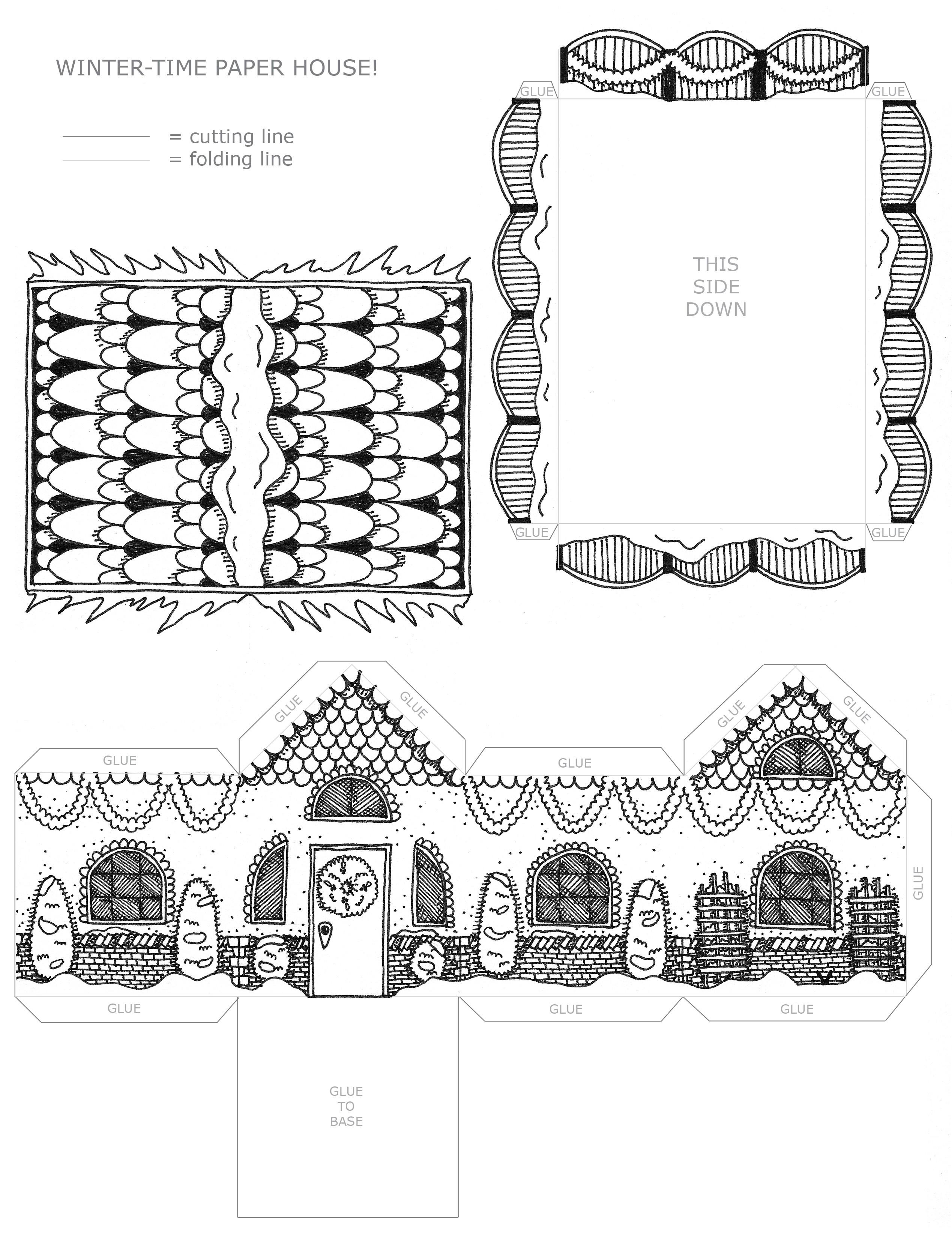 Объемная поделка своими руками схемы шаблоны фото 569