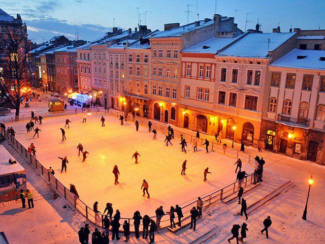 Как отметить Новый год во Львове