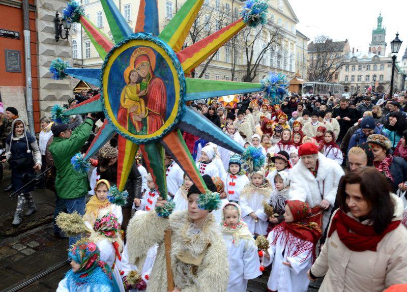 Как встретить Новый год во Львове