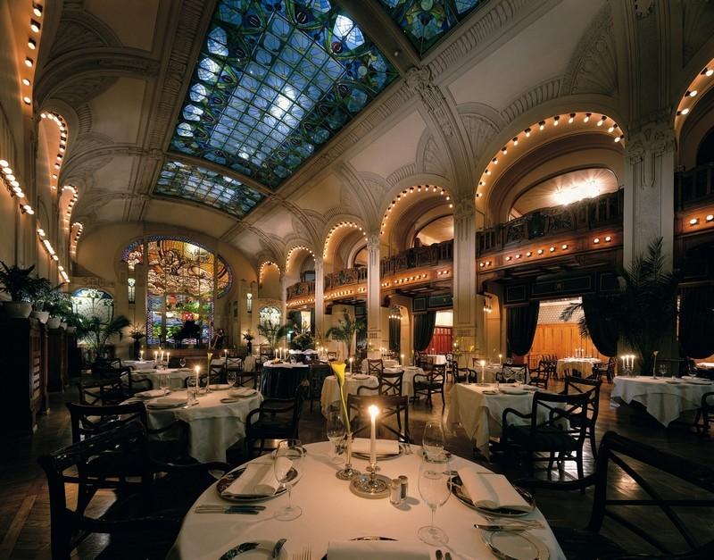 """Где отметить Новый год в Питере: ресторан отеля """"Гранд отель Европа"""""""